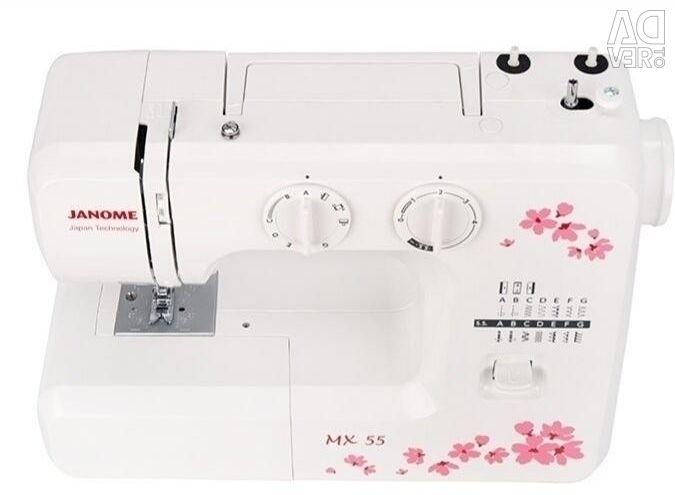 Electromechanical sewing machine Janome MX 55