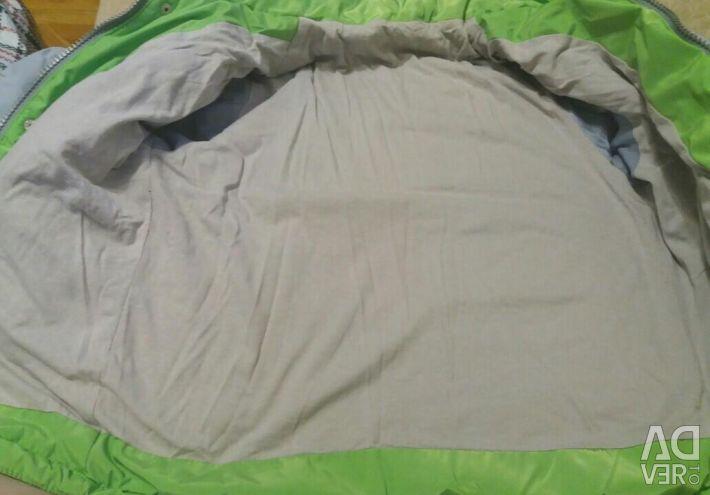 Тeплая куртка на 104-110