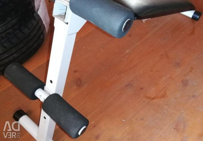 Bench gymnastic