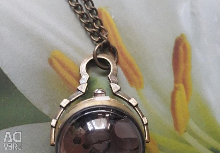Drop Vintage Pocket Watch 2.5 cm