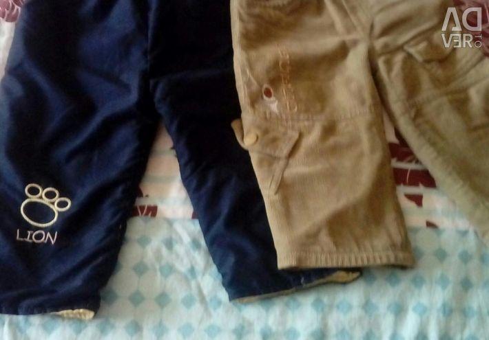 Παντελόνια ζεστά για ένα αγόρι