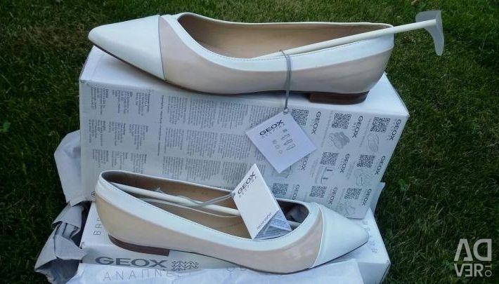 Yeni Geox Ayakkabı, hakiki deri