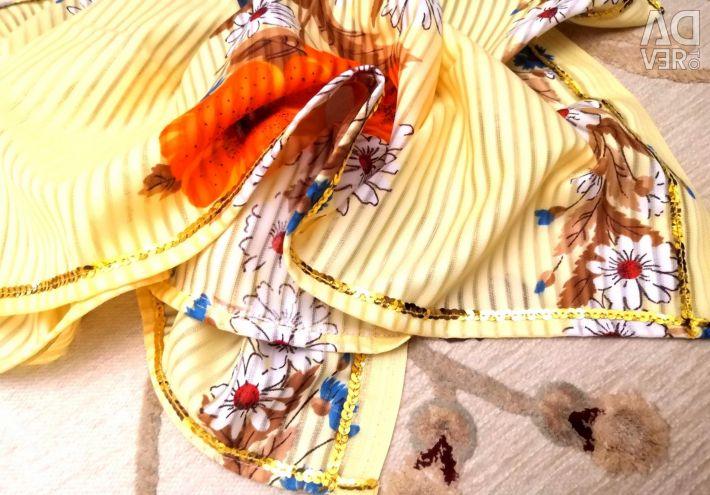 Silk New scarf scarf