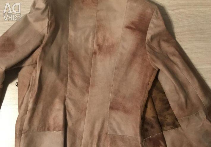 Leather jacket Mondial 44-46 size