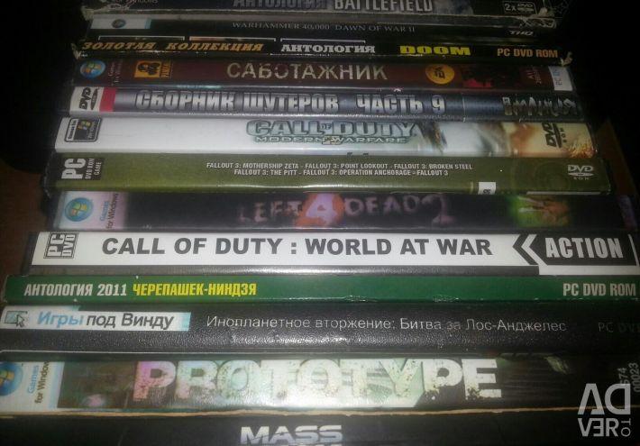 Δίσκοι) Παιχνίδια για PC)