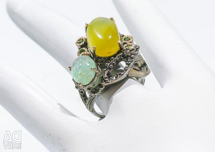 Opal și acvamarină