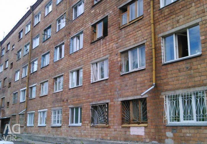 Apartment, 1 room, 17 m ²