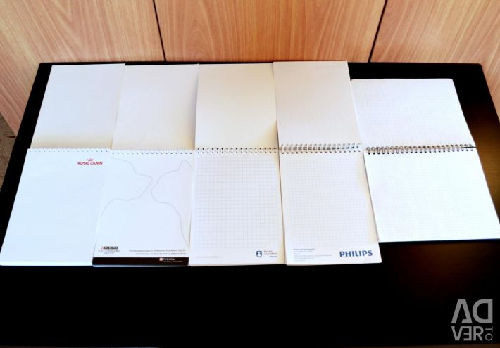 Notepads new