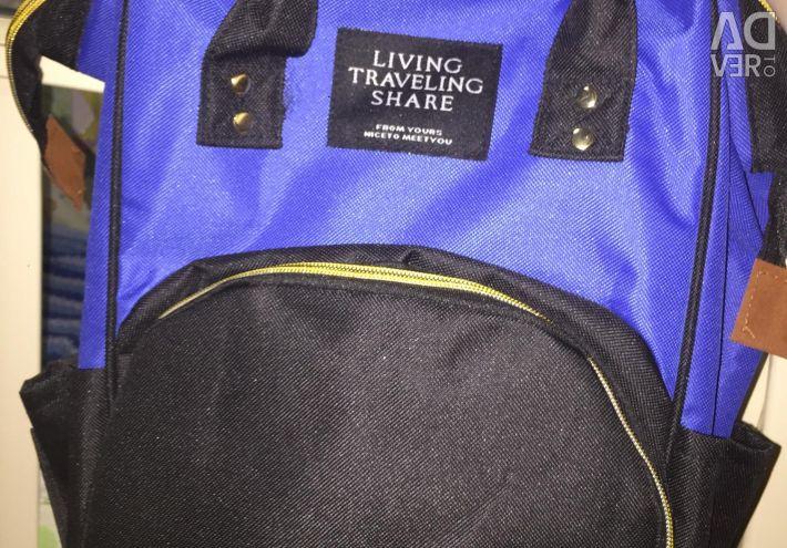 Новий рюкзак для мам з USB