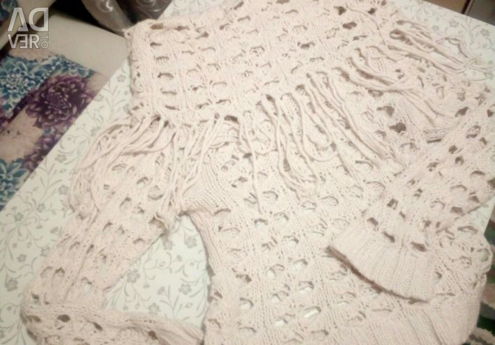 Hand-knitted sweater
