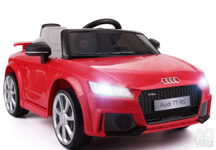 Audi electric red