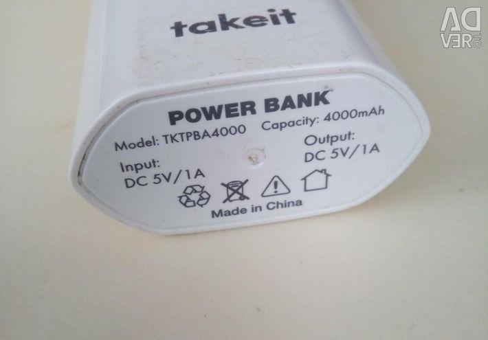 Power Bank на 4.000 аh.