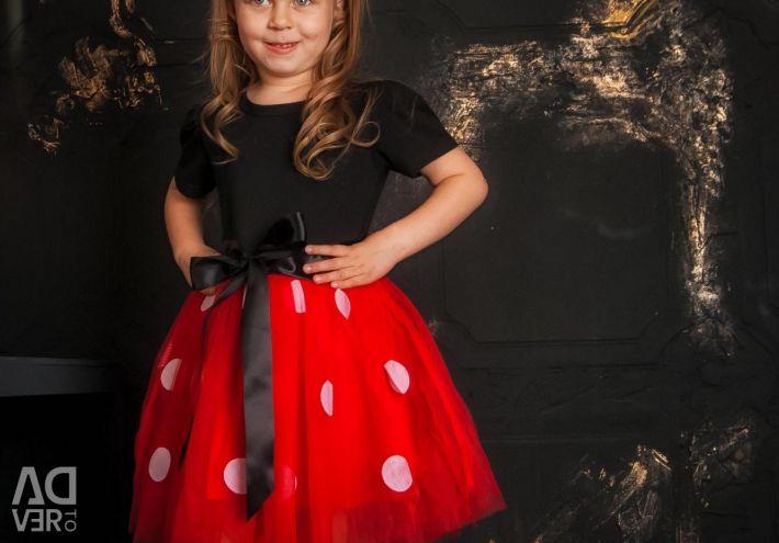 Dress + Headband Minnie Mouse