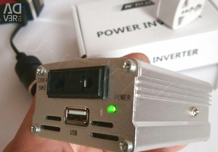 🔥 Авто Инвертор 12-220В 150Вт для Ноутбука Новый