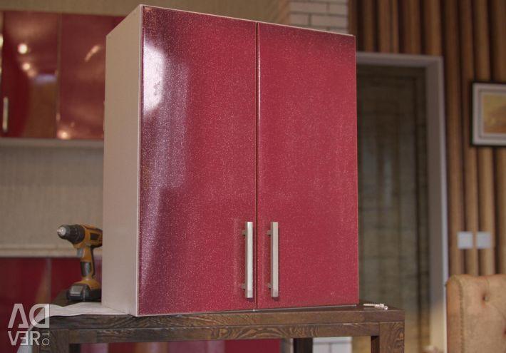 Cabinet with sink ШНМ-60 Fresh glamor metallic