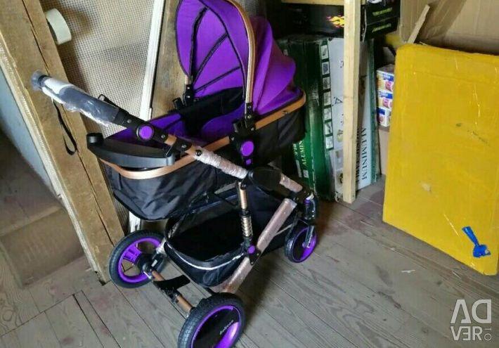 Violet stroller belecoo