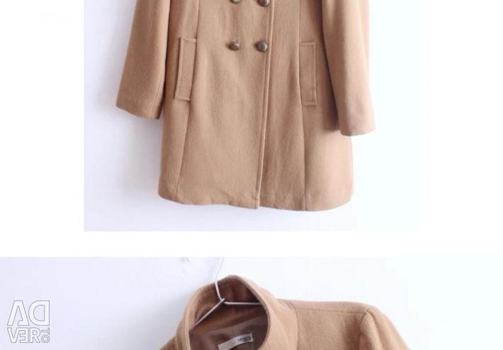Μπεζ παλτό