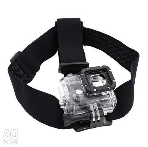 Head Mount for GoPro Action Cameras