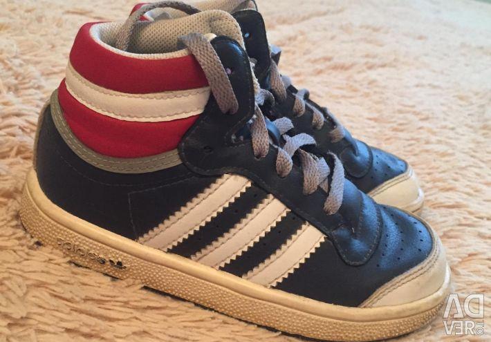 Adidași din piele Adidas 24p