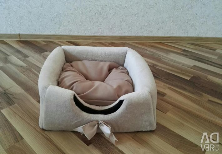 Lounger-transformer house for a cat or a dog