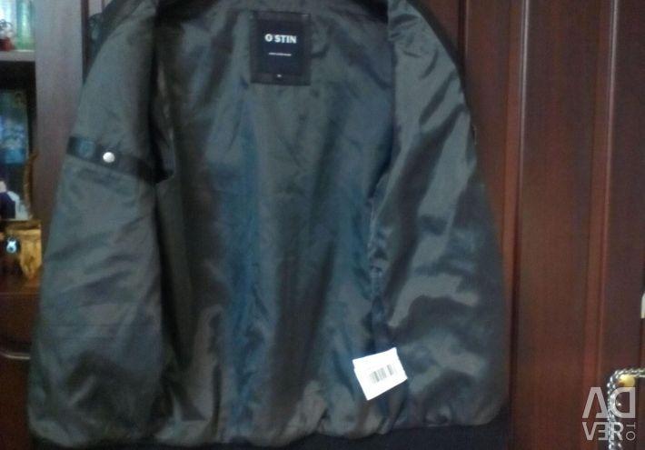 Leather, men's jacket