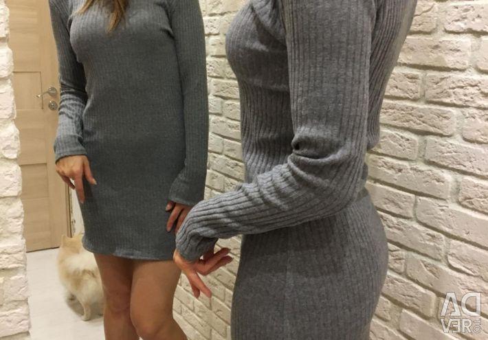 Φόρεμα μαλλί χιτώνα