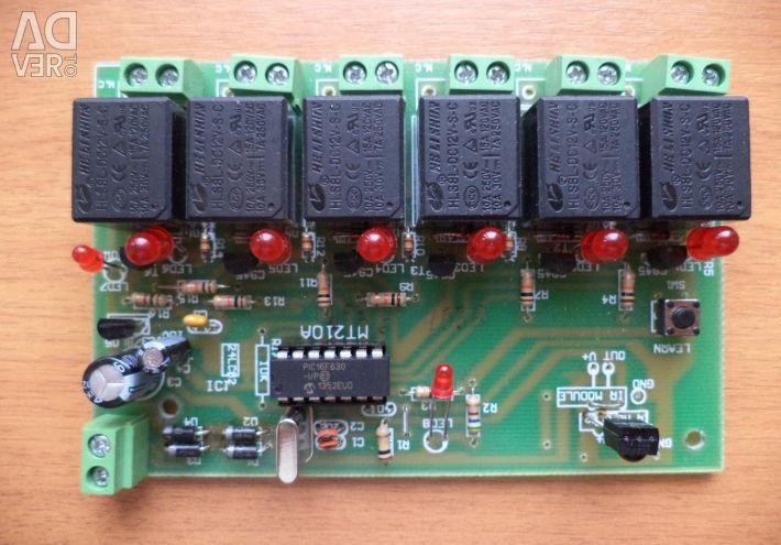 IR uzaktan kumandalı röle - elektronik seti