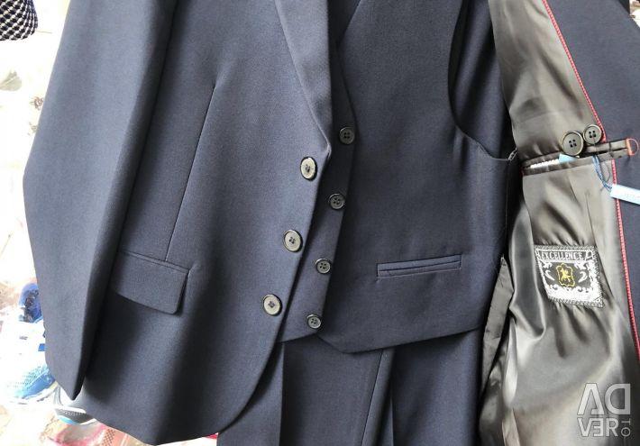 School suit for the boy.
