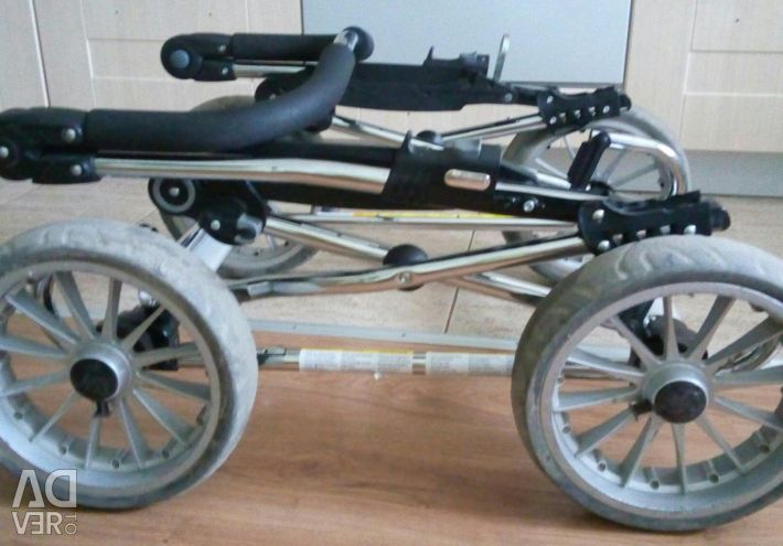 Stroller walk Emmaljunga beige color