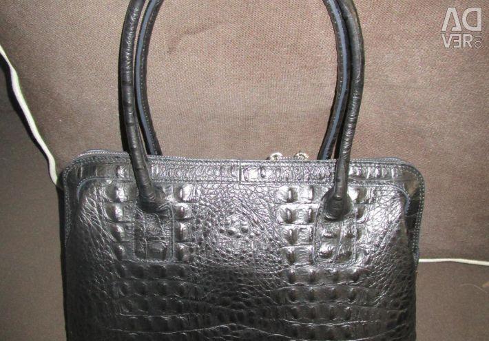 New Handbag PATRIZIA PIU genuine leather Italy