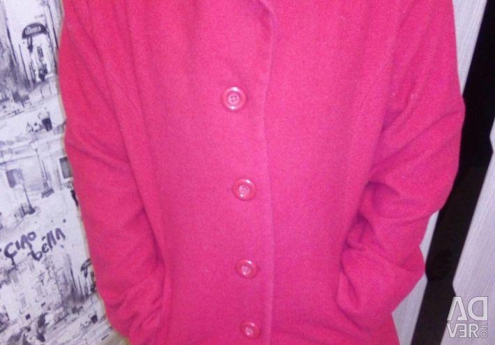 Coat spring cashmere