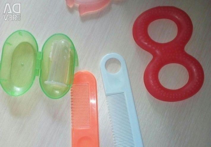 Всe для малыша (бутылочка, поильник, тарелка)