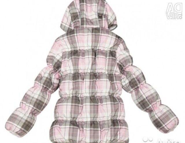 Тепла курточка на. 134 ріст