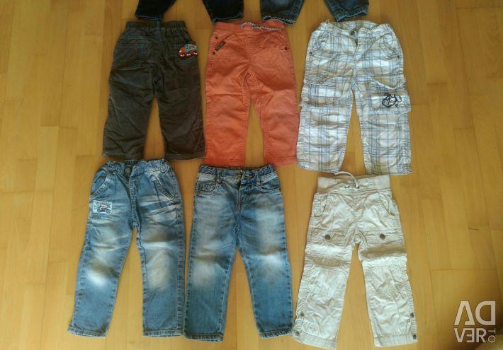 Πακέτο πραγμάτων Τζιν, παντελόνι, φόρμες 86-92