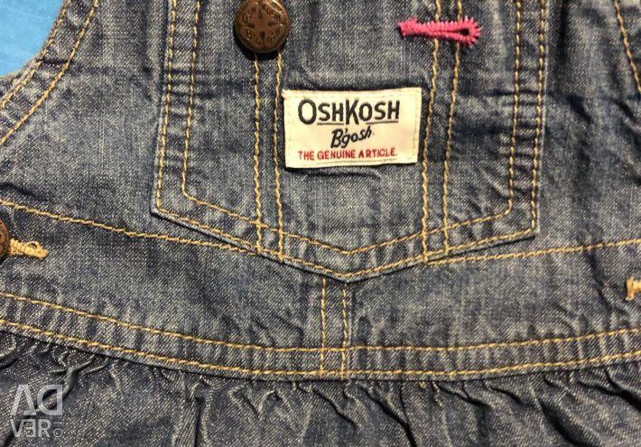 OSHKOSH denim dress for girl