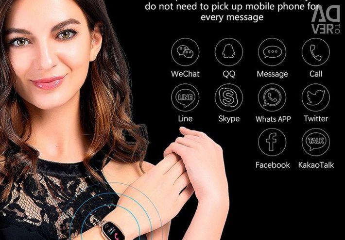 🔥 Noua brățară Smart Bracelet Femeile E68 Gold
