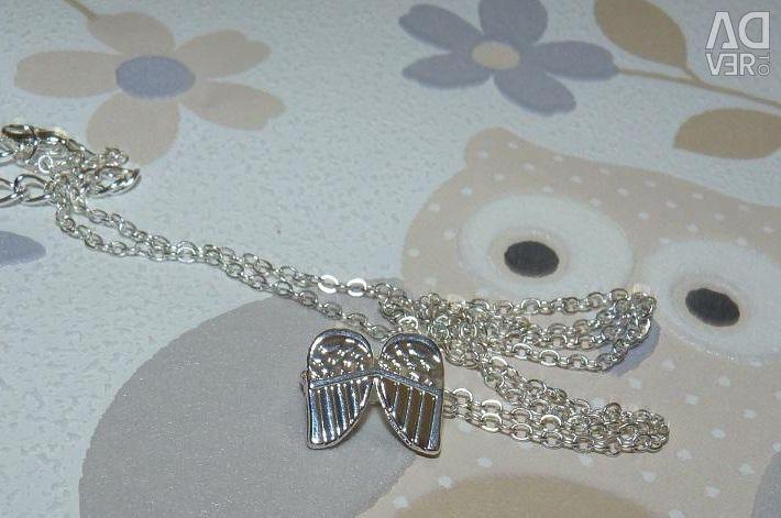 Αλυσίδα με κρεμαστά άγγελα φτερά Νέα