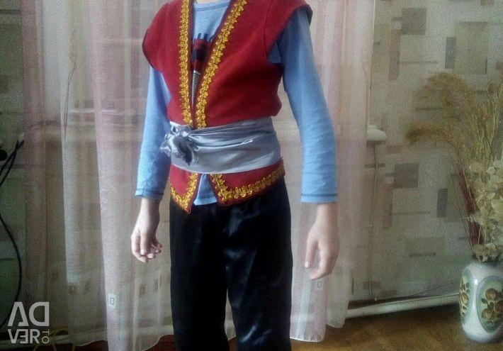 Costumul unui pirat.