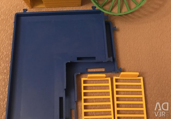 Καμπίνα, τροχός, δάπεδα και σκάλες