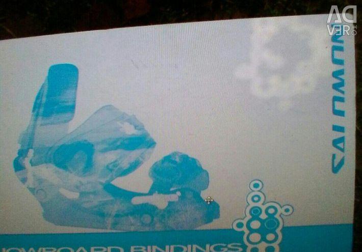 Snowboard mount