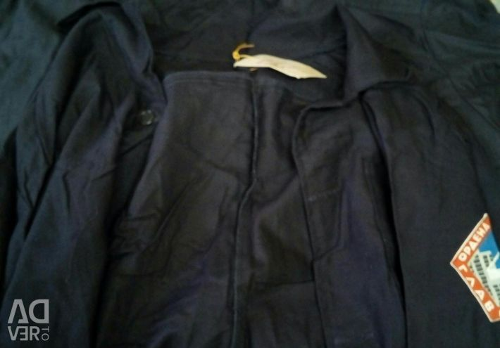 Cotton suit and jackets