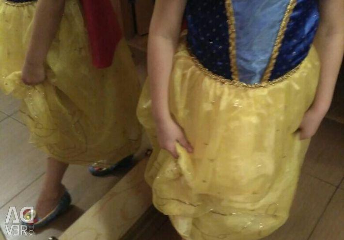 Disney Kar Beyaz Kostüm + Ayakkabı (Disney)