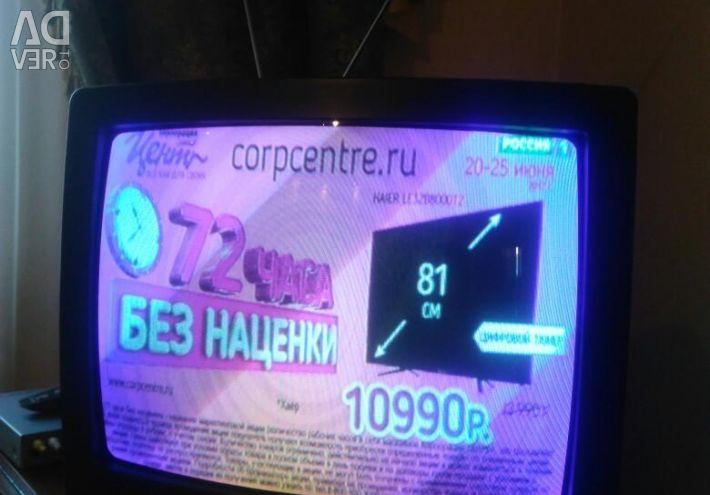 Τέλεια εικόνα τηλεόρασης.