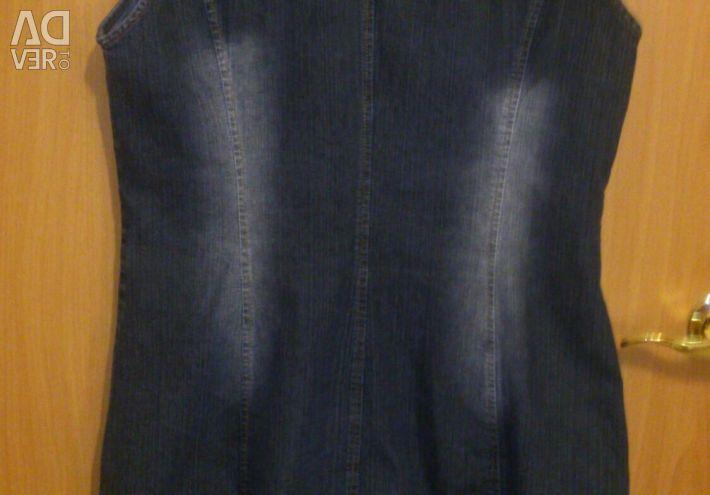 Denim dress 46-48 size?