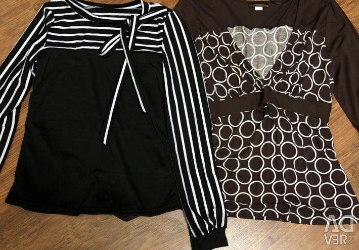 Блузки новые размер 44 и 46