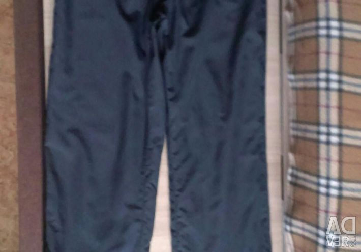 Sports pants for a teenager.