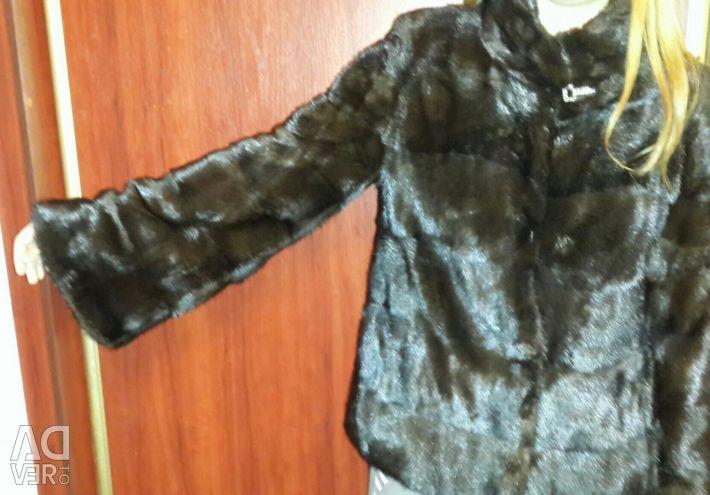 Mink coat.