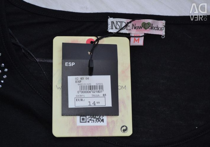 New blouse with a brand-Europe tag