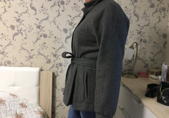 Draped coat Savage