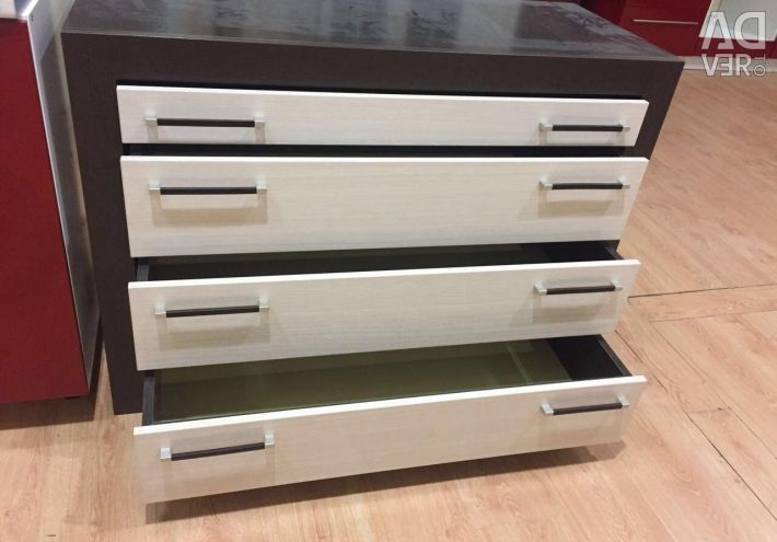 Selling dresser with new exhibition